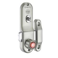 647 青葉牌單向高級鋁門鎖 700、1000型 平面無鎖心(無鑰匙)鋁門平鎖 勾鎖 門鎖