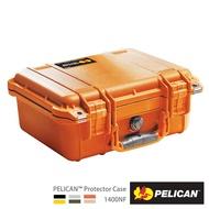 PELICAN 1400NF 氣密箱-空箱沙漠黃 公司貨