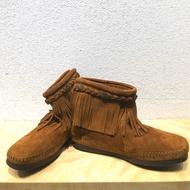 莫卡辛大人流蘇靴(全新)