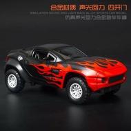 ╭。BoBo媽咪。╮建元模型 1:32 RALLY FIGHTER 拉力戰神 玩命關頭8 賽車 聲光回力車