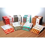香港 謝霆鋒自創品牌 鋒味 小紅莓/糖薑/芝麻/蝦條 口味曲奇 5包一盒