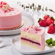 【康鼎】法式草莓馬茲卡邦慕斯蛋糕(6吋)