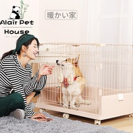 Luxury Teddy dog cage net red rabbit cage indoor small dog dog cage bixiong dog cage villa dog cage hpetx