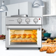 CIARRA CATOSMC01 Air Fryer Oven, 6-in-1 Toaster Oven with Timer, Countertop Convection Oven, Large Capacity with 24L/25Q