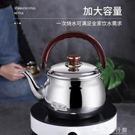 煮水壺304豪華鈦金琴音水壺大口響壺不銹鋼熱水壺燒水壺電磁爐可用YJT 交換禮物 雙十二購物節