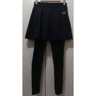 ifit fitty 假兩件 日著 壓力褲 圓裙款 黑色M號