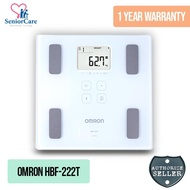 Omron HBF-222T Weighing Scale Body Composition Monitor
