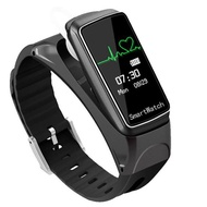 智慧手環藍芽耳機二合一運動計步器測手錶可通話藍芽手環-