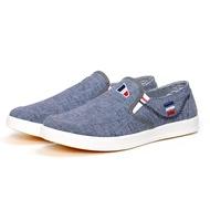 รองเท้าออกกำลังกายแฟชั่นชาย Canvas Sneaker for Men Casual Flat Shoes แบบใหม่ล่าสุด