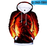 Aikooki Hot Salel Halloween 3D Hoodies Men/Women Fashion Harajuku Casual Sweatshirt 3D Print Halloween Anime Hoodie Top3Dprint hoodie hoodies sweatshirt coat