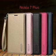 【Hanman】諾基亞 Nokia 7 Plus TA-1068 真皮皮套/翻頁式側掀保護套/手機套/保護殼