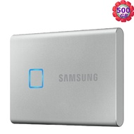 "【送SSD 2.5"" SATA外接cable】 SAMSUNG SSD Portable T7 500GB 500G 銀色 MU-PC500S 移動式固態硬碟"