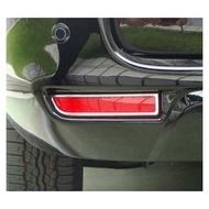 ~圓夢工廠~ Toyota Previa 2006-2015年 鍍鉻後保桿燈框 後反光片框
