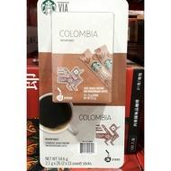 【漫時光】Starbucks 星巴克 哥倫比亞即溶研磨咖啡 2.1g*26入 即溶咖啡 / 好市多代購