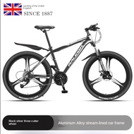 Raleigh English landing Fengtou aluminum alloy mountain bike 30/33 speed adult male and female student bicycle