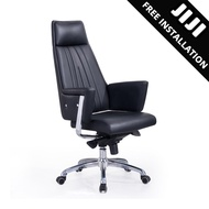 JIJI Office CEO Chair V3 (Free Installation) - (Home Office Chair) Supreme ★Leather ★Office Furniture ★Grand ★Ergonomic ★Quality / Free 12 Months Warranty (SG)