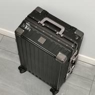 กระเป๋าเดินทางผู้หญิงใบเล็ก20นิ้วอลูมิเนียมกรอบรถเข็นล้อสากล24รหัสผ่านสำหรับนักเรียนชาย