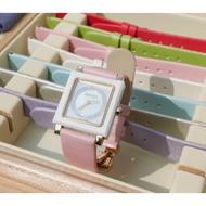 BENTLEY 賓利 方形 陶瓷 女鑽錶 腕錶