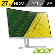 【Acer 宏碁】福利品 ED273 A 27型 VA 144hz曲面無邊框電競螢幕
