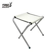 【Treewalker露遊】簡易鐵椅 牛津布材質 折疊椅 折疊凳 椅凳 輕量椅 鐵椅 野餐 露營 外出