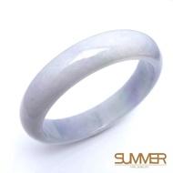 【SUMMER寶石】天然冰糯紫羅蘭翡翠手鐲(隨機出貨)