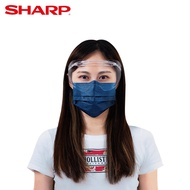 【SHARP夏普】奈米蛾眼科技防護眼罩 (奈米蛾眼科技防護面罩) 多入優惠組