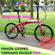 FNHON TORNADO PINK (9 Speed) - LITEPRO VERSION