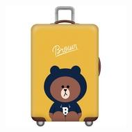 Johnn อุปกรณ์ป้องกันกระเป๋า 18-20-22-24-26-28-30-32 ยืดหยุ่นผ้าคลุมกระเป๋าเดินทาง TRAVEL กรณีอุปกรณ์คลุมกระเป๋าเดินทาง [คลังสินค้าพร้อม-คุณภาพสูง]