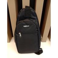 PAE กระเป๋าสะพายข้าง  DEVY สีดำเป้สะพายข้างชายกระเป๋าสะพายข้างชาย
