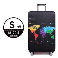 KingCare กระเป๋าเดินทางกันน้ำผ้าหุ้มกระเป๋าเดินทางครอบคลุมหนาผ้าคลุมกระเป๋าเดินทาง20/24/26/28นิ้ว