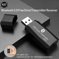 USB Bluetooth 5.0 Audio Receiver Transmitter adapter 2 IN 1 Bluetooth 3.5mm AUX HIFI Stereo Mini Wir