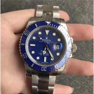 【柒柒拍賣】Rolex手錶潛航者系列 勞力士藍水鬼手錶 勞力士機械表 勞力士綠水鬼 藍水鬼 細節做到完美