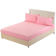 Breathable Mattress Protector Cover Fitted Sheet for Home Size Bed Queen Pad 150x200cm Mattress Anti-mite
