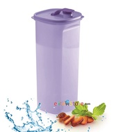 TUPPERWARE Fridge Bottle 2L [PURPLE] Strainer Pouch Mini Pour Fits Fridge Door Compartment Perfectly