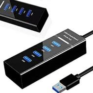 【Ainmax 艾買氏】USB 3.0 HUB 分線器 分接器 排插 集線器 插座 充電器(1拖4 1對4)