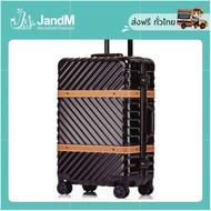 JandM กระเป๋าเดินทางเวสเทิร์น ซีรีย์ สีดำ ขนาด 24 นิ้ว ส่งkerry