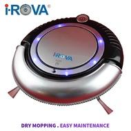 IROVA K6 / K6L Cheap Basic Mini Robot Vacuum Cleaner w/ Dry Mopping Floor Sweeping Cleaning Mop Best Budget I-ROVA Robotic vacuum vakum robot vacum