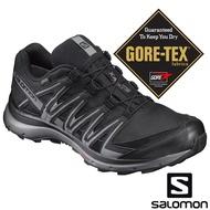 【SALOMON 法國】男 XA LITE GTX 防水健野鞋『黑/陰影灰/石碑灰』393312 GORE-TEX|越野鞋|野跑鞋|登山鞋|健行鞋|低筒|短筒
