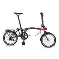For Brompton Bike 16 Inch 349  Internal 3 Speeds Folding Bicycle Steel Frame
