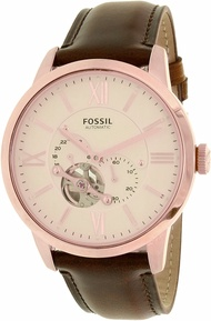 Fossil Men's Townsman ME3105 Brown Leather Japanese Automatic Dress Watch