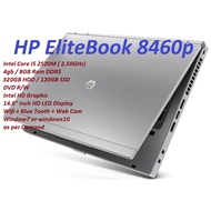 Notebook 14 inch Used Laptop intel Core i5 Notebook Core i5 Laptop HP EliteBook 8460 Core i5 Professional Series