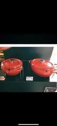 全聯 雙人牌29Cm琺瑯鑄鐵鍋