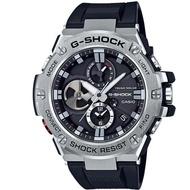 【CASIO 卡西歐】G-SHOCK G-STEEL 電力提示窗 藍芽錶(GST-B100-1A)