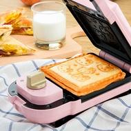 三麗鷗授權 Hello kitty 可換盤熱壓三明治機(四款烤盤可另選購)