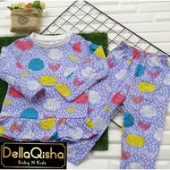 Borong Wholesale 12PCS (BOLEH PILIH) Pyjamas Doll playset Longsleeve Kids pajamas set baju tidur budak Murah Raya 2021