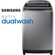 SAMSUNG三星 16KG雙效手洗變頻洗衣機WA16J6750SP/TW