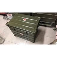 德軍 Zarges A10鋁箱.軍箱.生存遊戲.露營.軍品