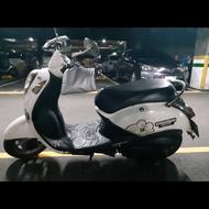 年終優惠大特價🉐️⬇️小資型代步摩托車🏍️ 普通重型 三陽 白色100cc