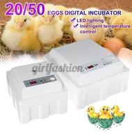 Egg Incubator 20pcs/50pcs plastic water bed incubator incubator automatic small household water bed incubator chicken duck goose pigeon peacock incubator