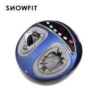 SNOWFIT SnowFeet High Quality Foot Massager + Reflexology with Heating Function - Blue (Similar As Gintell / Ogawa / Osim)